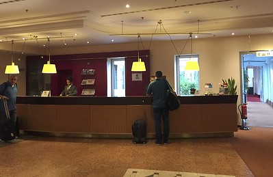 The European part of this trip started at the Sheraton hotel in Dusseldorf.