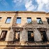 War-torn building in Mostar, Bosnia.