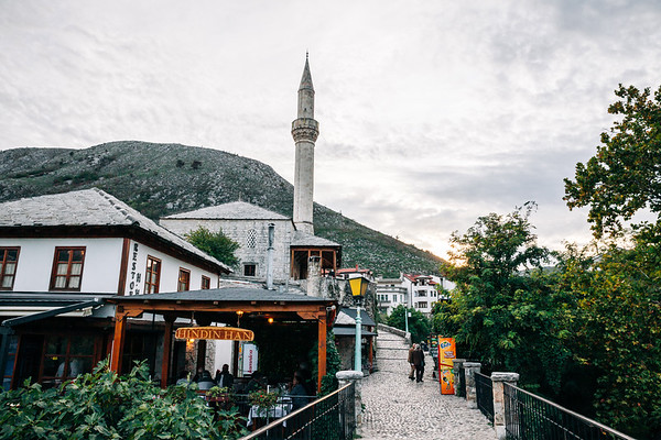 Old Town of Mostar in Bosnia.
