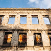 War-torn building in Mostar, Bosnia.