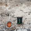 Bullet holes from the Bosnian War