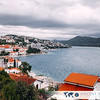View on the city of Neum, the only the town located along the 20 km (12 miles) of coastline by the Adriatic Sea in Bosnia and Herzegovina.