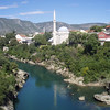 A view of Mostar.