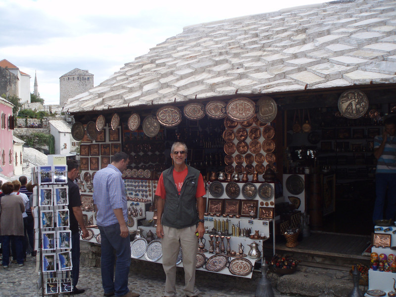 Metalwork is a special product of Bosnia.