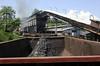 55-99 & 83-159, climbing past the coal loader towards Banovici railway works, Bosnia-Hercegovina, Thurs 12 June 2014 - 1140