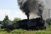 55-99 + 83-159 & 25-30, passing Banovici railway works, Bosnia-Hercegovina, Thurs 12 June 2014 - 1152