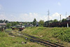 740-108, passing Banovici railway works, Bosnia-Hercegovina, Thurs 12 June 2014 - 1149.   Another loaded train for the washery.
