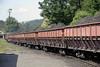 740-108, Oskova, Bosnia-Hercegovina, Wed 11 June 2014 3.   Trains all had 15 of these hopper wagons