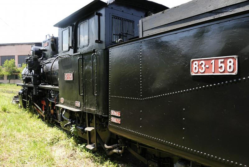 83-158, Banovici railway works, Bosnia-Hercegovina, Wed 11 June 2014 1.   Djuro Djakovic 53 / 1948.