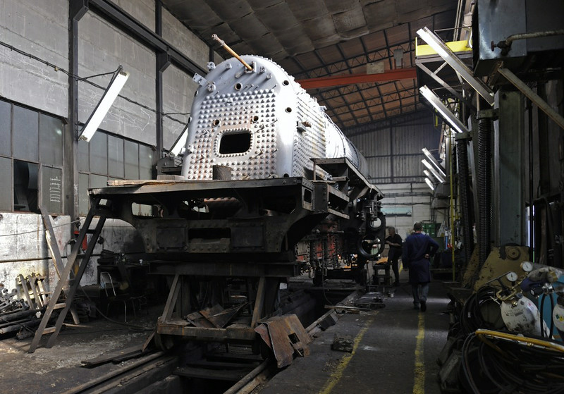 33-504, Bukinje loco shed, Tuzla, Bosnia-Hercegovina, Tues 10 June 2014 6.