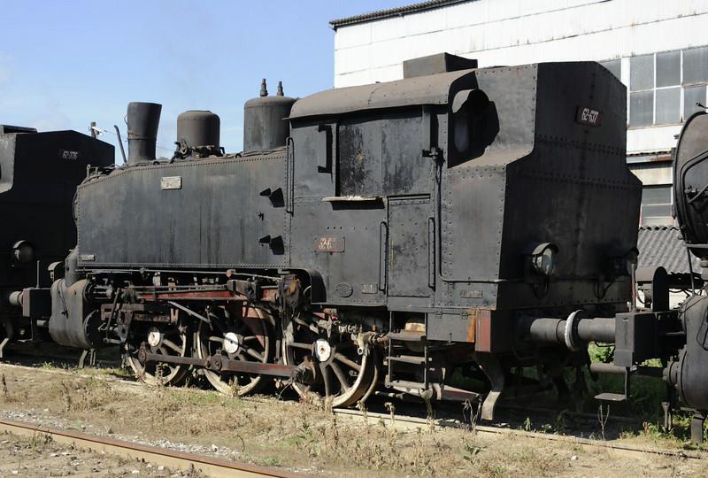 62-637, Bukinje loco shed, Tuzla, Bosnia-Hercegovina, Tues 10 June 2014.   Built for industrial use by Djuro Djakovic (637 / 1955).