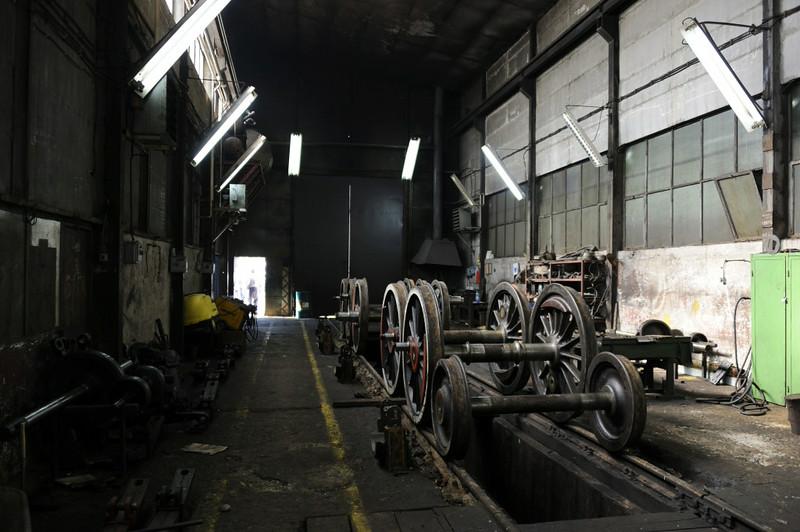 33-504, Bukinje loco shed, Tuzla, Bosnia-Hercegovina, Tues 10 June 2014 5.