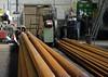 Boiler tubes, Bukinje loco shed, Tuzla, Bosnia-Hercegovina, Tues 10 June 2014