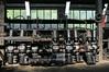 Air compressors, Bukinje loco shed, Tuzla, Bosnia-Hercegovina, Tues 10 June 2014