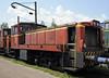 Bosnia-Hercegovina Federation Rlys (ZFBH) 732-160, Rajlovac Teretna traction depot, near Sarajevo, Bosnia-Hercegovina, Fri 13 June 2014.  Built by Djuro Djakovic.