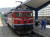 Bosnia-Hercegovina Federation Rlys (ZFBH) 441-411, Sarajevo station, Bosnia-Hercegovina, Fri 13 June 2014.  34 of these 25kV Bo-Bo were built about 1967.  ZFBH has 9, and they work most passenger trains.