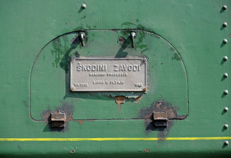 19-12, Ljubace, Bosnia-Hercegovina, Wed 11 June 2014 2.  The 0-6-0T was built in Pilsen by Skoda (1912 / 1948).