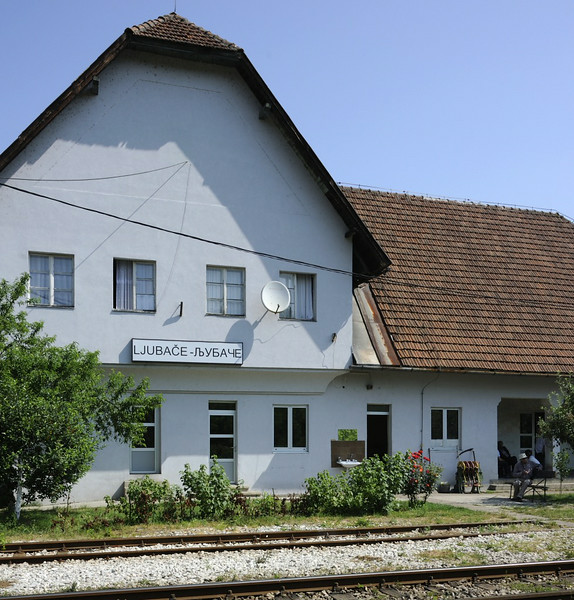 Ljubace station, Bosnia-Hercegovina, Wed 11 June 2014 1