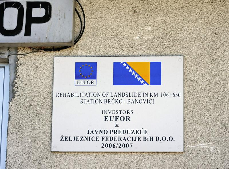 Mramor station, near Tuzla, Bosnia-Hercegovina, Tues 10 June 2014 2