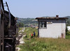 33-248, Tinja, between Mramor and Srebrenik, Bosnia-Hercegovina, Tues 10 June 2014 - 1121.  NB the other signal box at the far end of the loop.  It was unmanned.