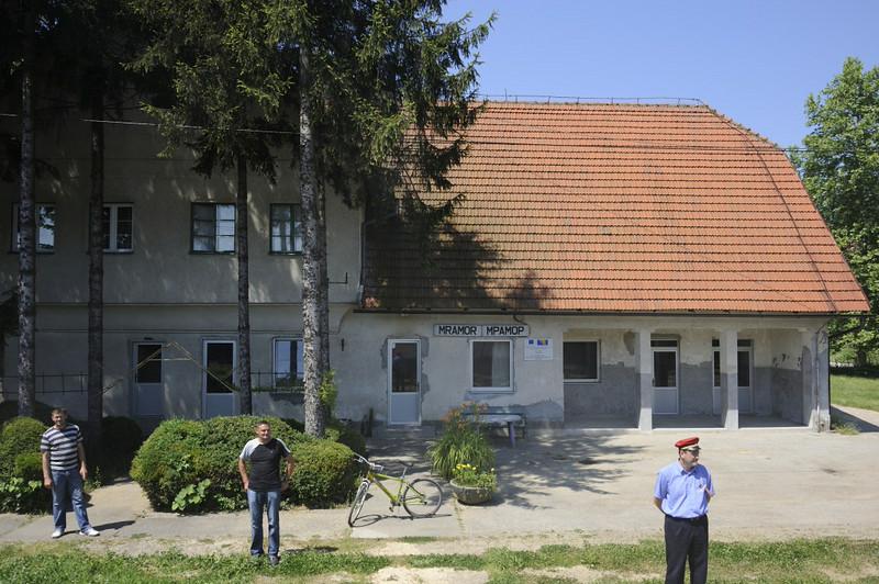 Mramor station, near Tuzla, Bosnia-Hercegovina, Tues 10 June 2014 1 - 1109