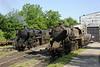 33-248 & 33-503, Bukinje loco shed, Tuzla, Bosnia-Hercegovina, Tues 10 June 2014.