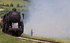 33-248, Duboki Potok, Bosnia-Hercegovina, Tues 10 June 2014 2 - 1256.  The second run past started a fire in the grass...