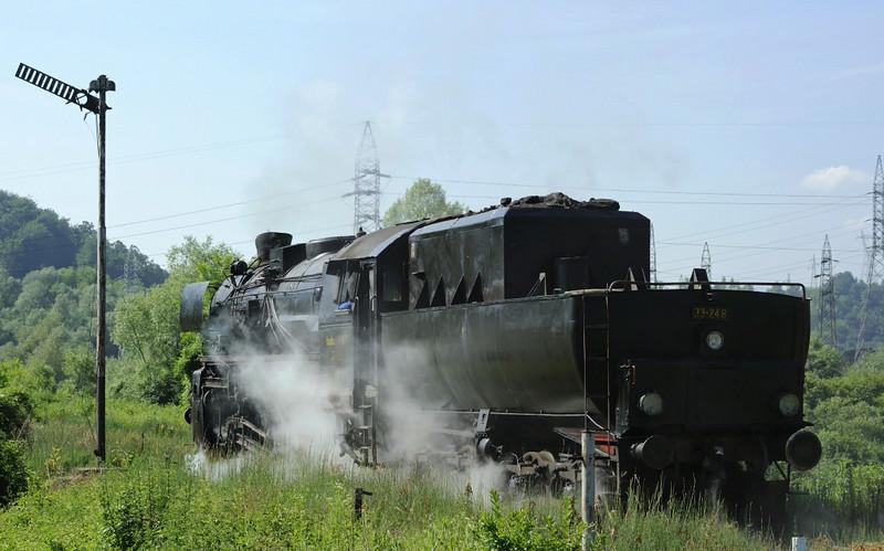 33-248, near Bukinje loco shed, Tuzla, Bosnia-Hercegovina, Tues 10 June 2014 2