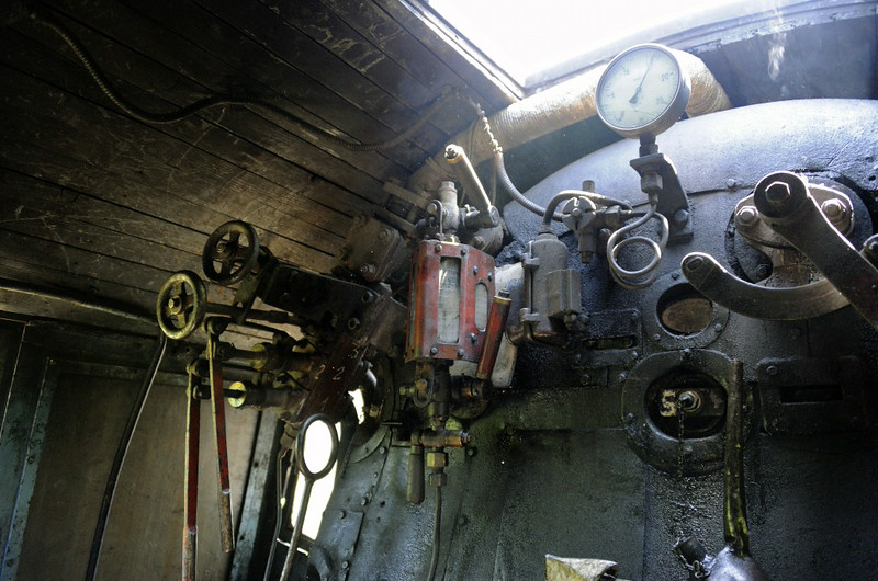 33-248 footplate, between Duboki Potok and Mramor, Bosnia-Hercegovina, Tues 10 June 2014 4