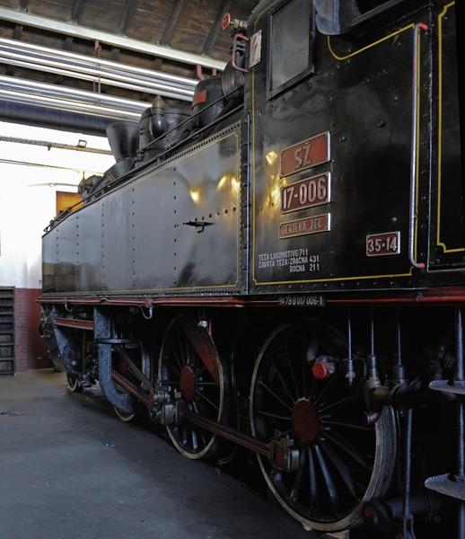 Slovenian Railways (SZ) 17-006, Slovenian Railway Museum, Ljubljana, 8 June 2014 2.