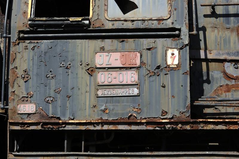 Yugoslav Railways (JZ) 06-016, Slovenian Railway Museum, Ljubljana, 8 June 2014 2.