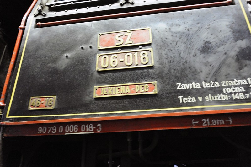 Slovenian Railways (SZ) 06-018, Slovenian Railway Museum, Ljubljana, 8 June 2014 2