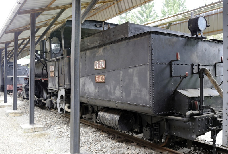 Yugoslav Rlys (JZ) 73-002, Pozega railway museum, Serbia, Mon 16 June 2014 2.