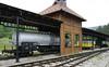 Tank wagon, Sargan Vitasi station, Serbia, Sun 15 June 2014.  Built in Romania.