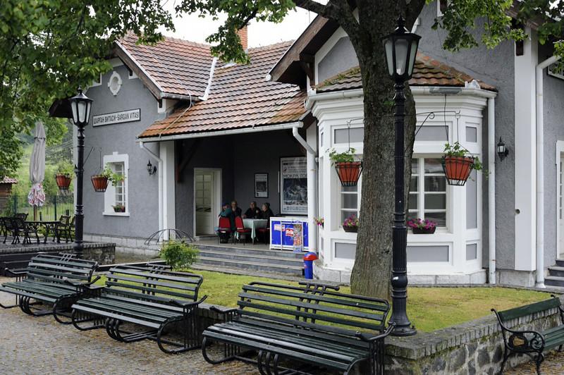 Sargan Vitasi station, Serbia, Sun 15 June 2014 1 - 1020.  Everything at Sargan Vitasi is new.