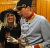 Bohinj tunnel cabaret, Slovenia, Sat 7 June 2014 2  ...his officer and his mistress!