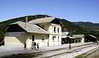 Bohinjska Bistrica, Slovenia, Sat 7 June 2014 - 1110.  BB used to be known as Wocheiner Feistritz.  It stands at the northern end of the 6,339m Bohinj tunnel.