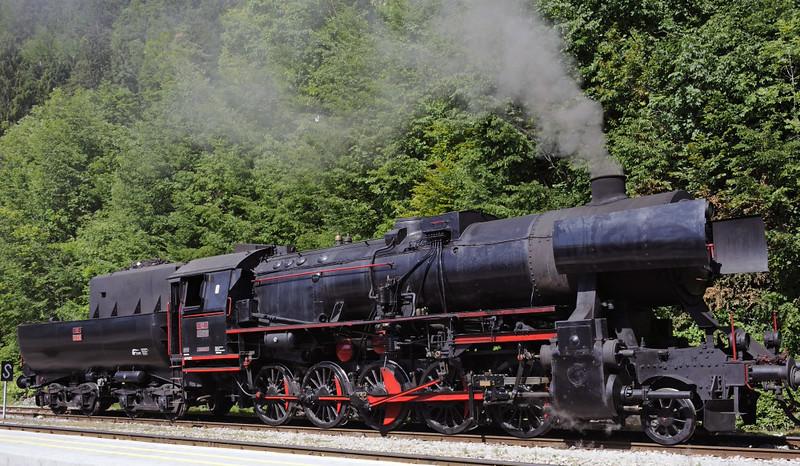 Slovenian Rlys (SZ) 33-037, Bled Jezero, Slovenia, Sat 7 June 2014