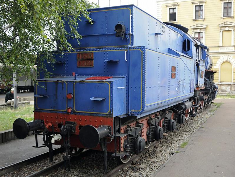 Yugoslav Rlys (JZ) 11-022, Belgrade station, Serbia, 16 June 2014 3