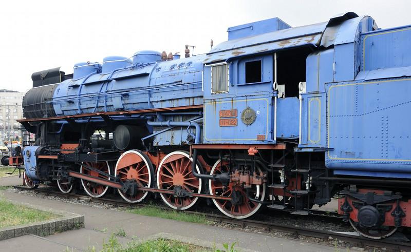 Yugoslav Rlys (JZ) 11-022, Belgrade station, Serbia, 16 June 2014 2