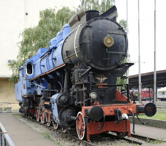 Yugoslav Rlys (JZ) 11-022, Belgrade station, Serbia, 16 June 2014 5