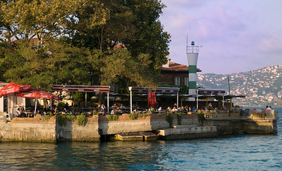 Views from the Istanbul Bosporus