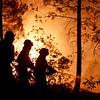 Incendio en Riba de Saelices Guadalajara)