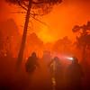 Incendio en Castrocontrigo (León)