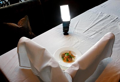 a dish served in the restaurants at the Elysian Hotel, Monday, October 4, 2010.   (Alex Garcia/Chicago Tribune)   ....OUTSIDE TRIBUNE CO.- NO MAGS,  NO SALES, NO INTERNET, NO TV, NEW YORK TIMES OUT, CHICAGO OUT, NO DIGITAL MANIPULATION...