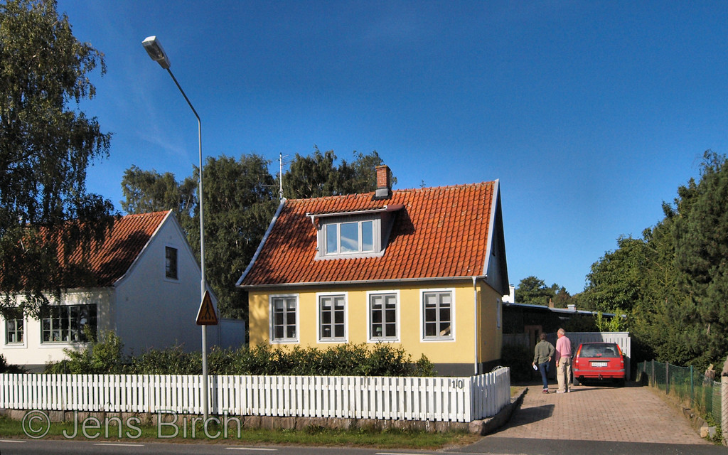 Our new house in Skåne upon the final inspection. Apparently, it is in perfect coindition :-))