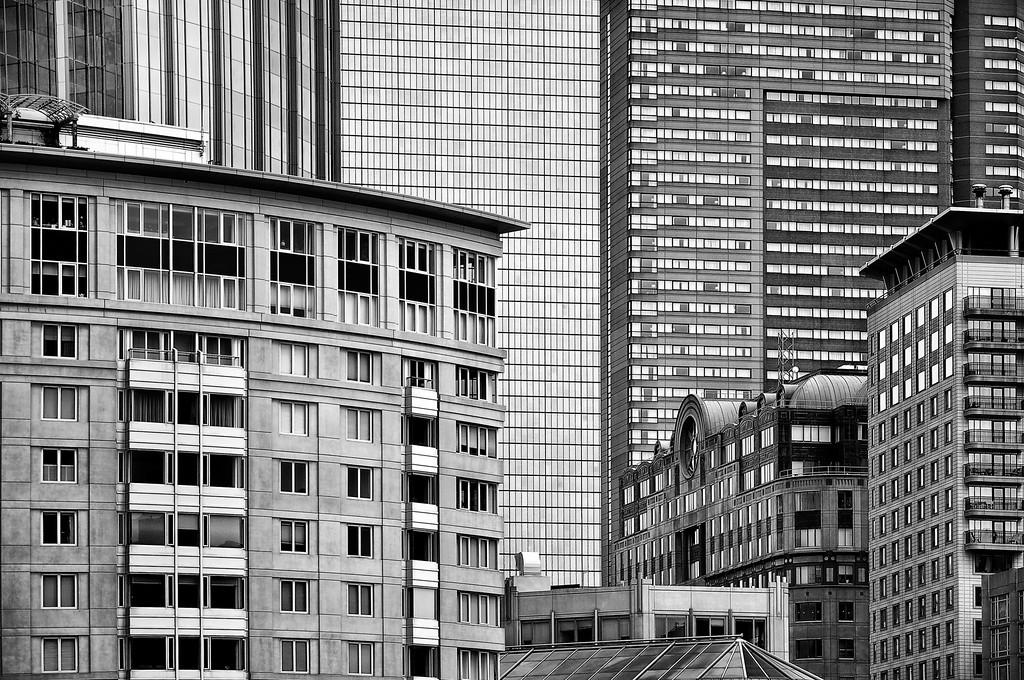 Downtown Boston Architecture.