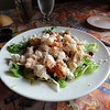 Excellent lobster salad at Gloucester House Restaurant