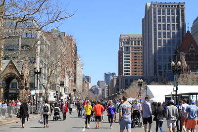 Walking around Boston