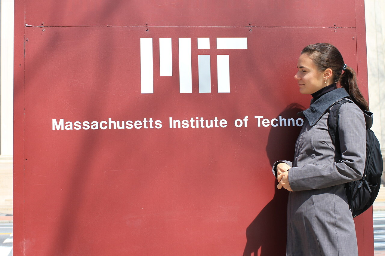 Yuliya and MIT: been here! :D